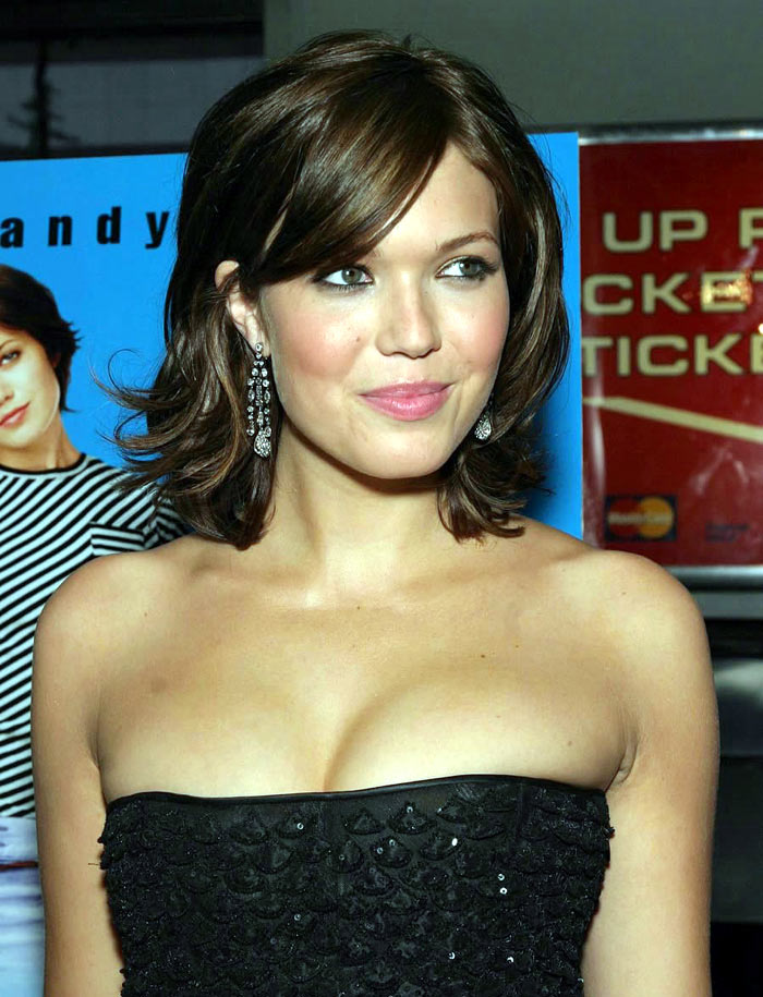 O quarto lugar ficou com a cantora e atriz Mandy Moore.